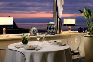 Romantic dinner in a starred restaurant in Tuscany